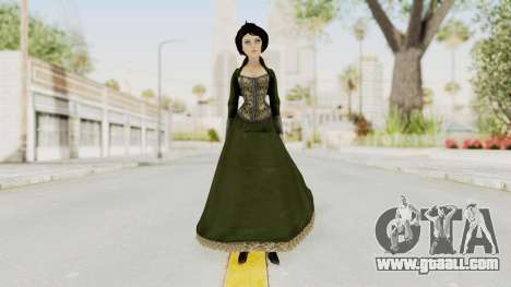 Bioshock Infinite Elizabeth Gibson for GTA San Andreas second screenshot