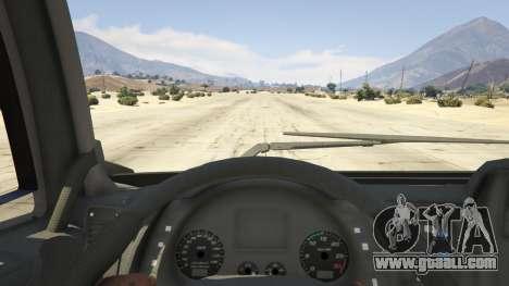 GTA 5 Iveco Stralis HI-WAY back view