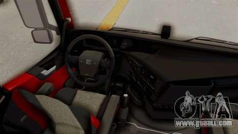 Volvo FM Euro 6 6x4 v1.0 for GTA San Andreas inner view