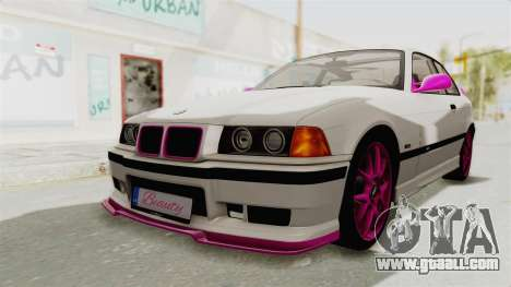 BMW M3 E36 Beauty for GTA San Andreas back left view