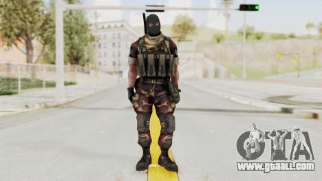 Battery Online Russian Soldier 3 v2 for GTA San Andreas second screenshot
