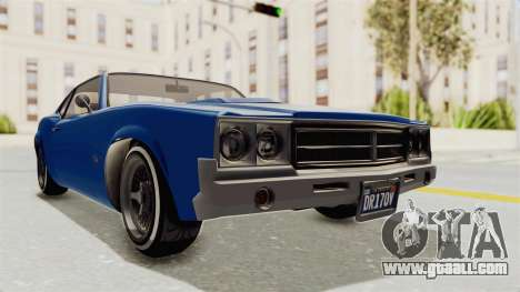 GTA 5 Declasse Sabre GT2 A for GTA San Andreas