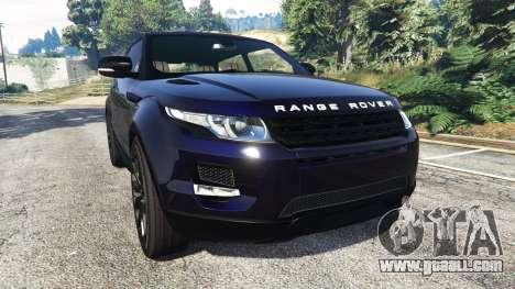 Range Rover Evoque v5.0 for GTA 5