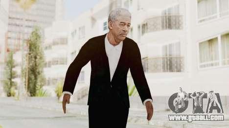 Batman Begins - Morgan Freeman for GTA San Andreas