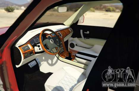 GTA 5 2014 Nissan Patrol Impul back view