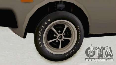 Fiat 131 Supermirafiori for GTA San Andreas back view