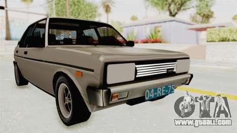 Fiat 131 Supermirafiori 1977 for GTA San Andreas