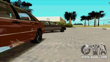 Mercedez-Benz W140 for GTA San Andreas left view