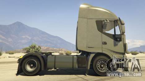 GTA 5 Iveco Stralis HI-WAY left side view