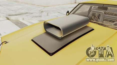 GTA 5 Declasse Sabre GT2 B IVF for GTA San Andreas inner view