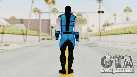 Mortal Kombat X Klassic Sub Zero UMK3 v2 for GTA San Andreas third screenshot