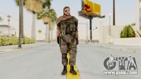 MGSV The Phantom Pain Venom Snake Scarf v6 for GTA San Andreas second screenshot