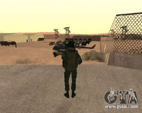 Special forces of the Russian Federation for GTA San Andreas forth screenshot