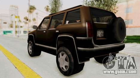 Landstalker from GTA 3 for GTA San Andreas left view