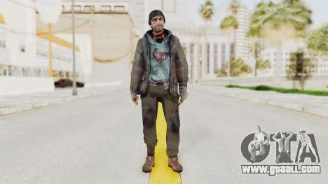 Bourne Conspirancy Homeless for GTA San Andreas second screenshot