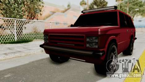 Huntley LR for GTA San Andreas
