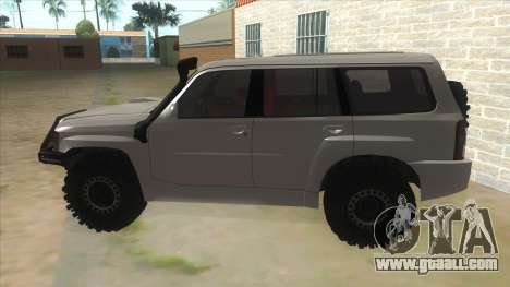 Nissan Patrol Y61 for GTA San Andreas left view