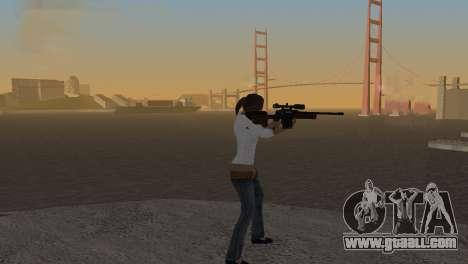 VIP Sniper Rifle for GTA San Andreas second screenshot