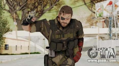 MGSV The Phantom Pain Venom Snake Splitter for GTA San Andreas