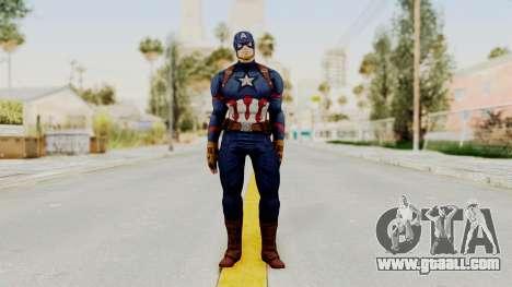 Captain America Civil War - Captain America for GTA San Andreas second screenshot