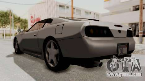 Jester Supra for GTA San Andreas right view