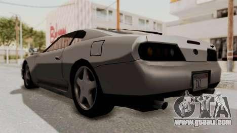 Jester Supra for GTA San Andreas right view