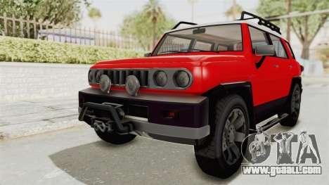 GTA 5 Karin Beejay XL IVF for GTA San Andreas