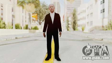 Batman Begins - Morgan Freeman for GTA San Andreas second screenshot