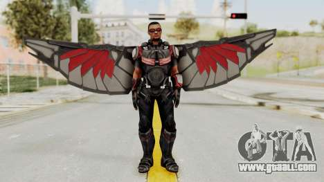 Captain America Civil War - Falcon for GTA San Andreas second screenshot