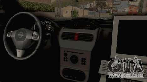 Opel Corsa for GTA San Andreas inner view