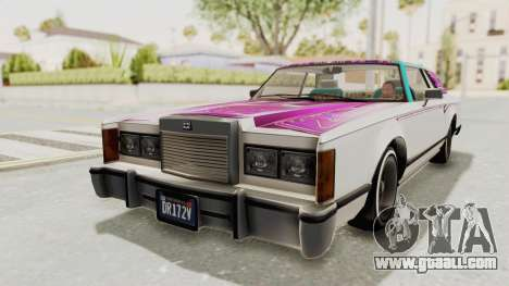 GTA 5 Dundreary Virgo Classic Custom v3 for GTA San Andreas wheels