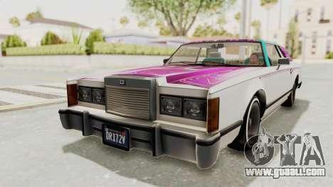 GTA 5 Dundreary Virgo Classic Custom v3 for GTA San Andreas wheels