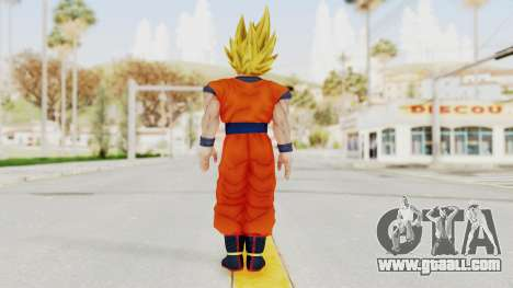 Dragon Ball Xenoverse Goku SSJ2 for GTA San Andreas third screenshot