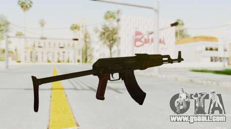 kbk AKMS for GTA San Andreas third screenshot