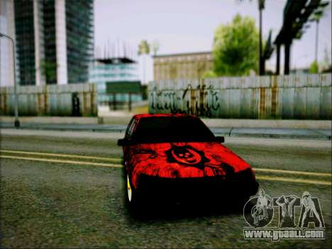 2109 Aggressive for GTA San Andreas back left view