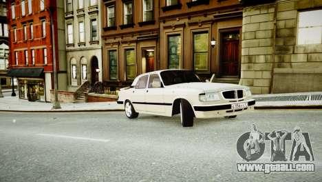 GAZ 3110 Turbo WRX STI for GTA 4 inner view