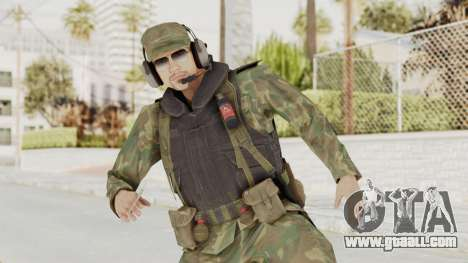 MGSV Ground Zeroes US Pilot v2 for GTA San Andreas