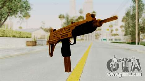Uzi Gold for GTA San Andreas second screenshot