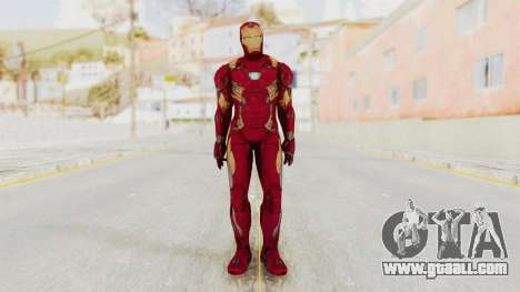 Captain America Civil War - Iron Man for GTA San Andreas second screenshot