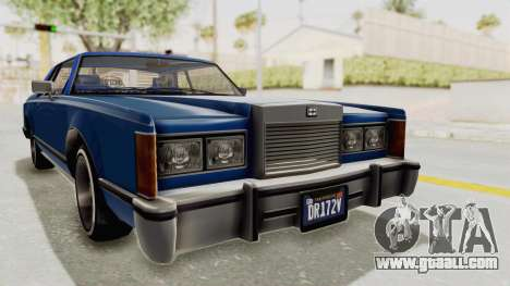 GTA 5 Dundreary Virgo Classic Custom v1 IVF for GTA San Andreas right view
