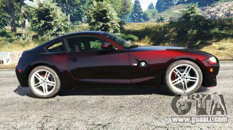 BMW Z4 M (E86) 2008 for GTA 5