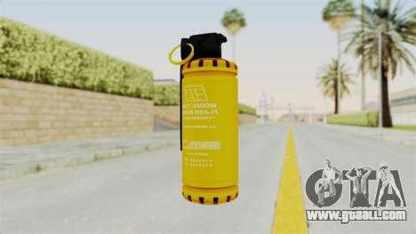Tear Gas Gold for GTA San Andreas second screenshot