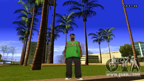 Colormod Easy Life by roBB1x for GTA San Andreas second screenshot