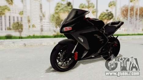 Kawasaki Ninja 300 FI Modification for GTA San Andreas right view