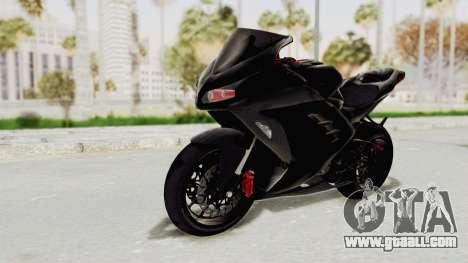 Kawasaki Ninja 300 FI Modification for GTA San Andreas right view