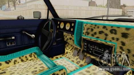 GTA 5 Dundreary Virgo Classic Custom v2 IVF for GTA San Andreas inner view