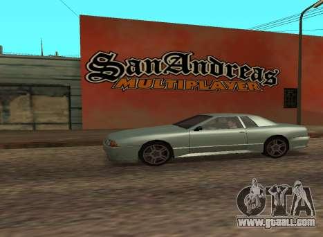 San Andreas Multiplayer Graffiti for GTA San Andreas third screenshot