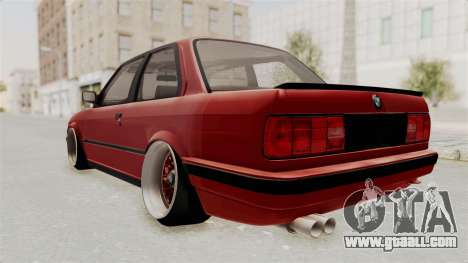 BMW M3 E30 Camber Low for GTA San Andreas left view