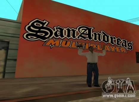 San Andreas Multiplayer Graffiti for GTA San Andreas second screenshot