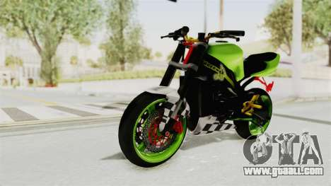 Kawasaki Ninja ZX-9R Stunter for GTA San Andreas